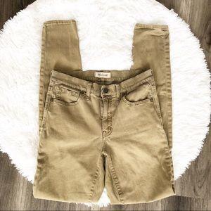 Madewell 9 inch Skinny Skinny Highriser Jeans